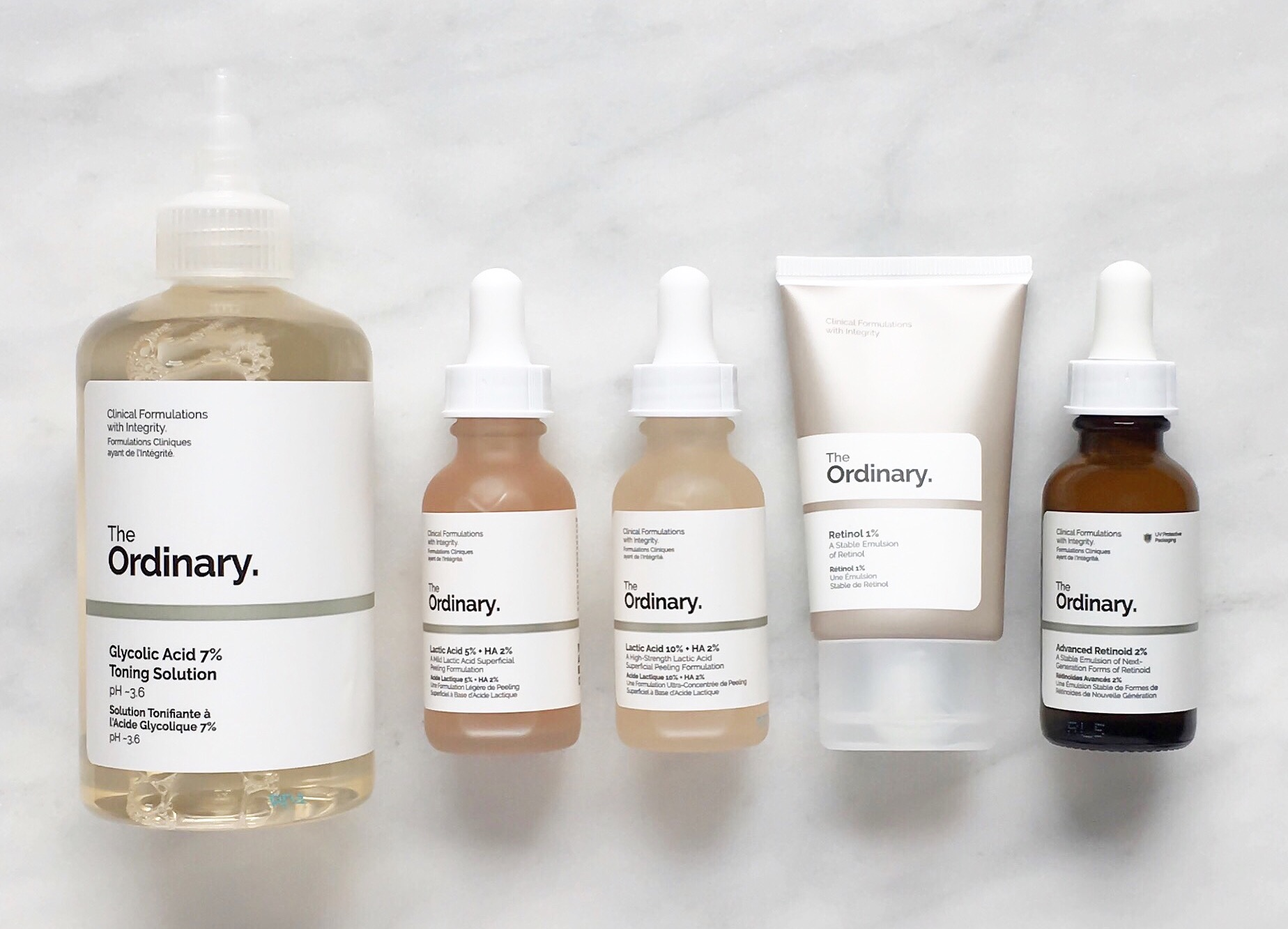 The ordinary regimen guide